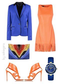 """You will see me"" by aakiegera on Polyvore featuring мода, Elena Ghisellini, Boutique Moschino, Nicholas Kirkwood, Barbara Bui и Versus"