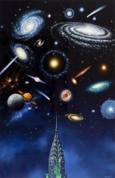 "Rafal Olbinski (b. 1943) ""new York Earth Day"", 2007;"