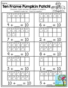 Ten Frame Worksheets for Kindergarten. 24 Ten Frame Worksheets for Kindergarten. Penguin Addition Using Ten Frames Up to 10 Smart Kid Kindergarten Addition Worksheets, First Grade Worksheets, Free Kindergarten Worksheets, 1st Grade Math, In Kindergarten, Teaching Addition, Math Activities, Math Games, Ten Frames