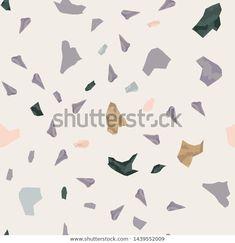 Seamless Abstract Terrazzo Pattern Stone Texture Stock Illustration 1439552009 Stone Texture, Terrazzo, Brochure Design, Textured Background, Royalty Free Stock Photos, Loft, Interiors, Abstract, Illustration