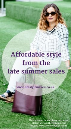Affordable style from the late summer sales. Here are my style picks and late summer fashion bargains for the 40 plus, curvy woman