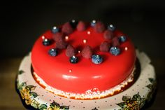 Flamme Cake Red by lililoveme.by