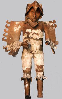 Pic 12: Aztec eagle-warrior sculpture. Museo del Templo Mayor, Mexico City