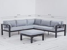 Forza Dresano loungehoek tuinset 4-delig  van Forza Furniture