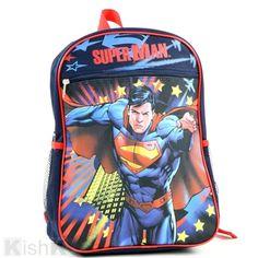 Superman Backpack.  Backpacks  BackToSchool  Kids Superman Backpack ca80c40b99a1a