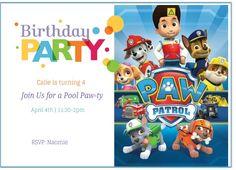 Download Now Paw Patrol Birthday Invitation Ideas