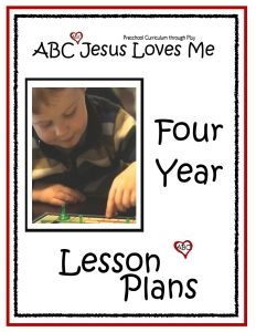 The 4 Year Curriculum is geared toward those children who will be entering Kindergarten the next year. It consists of the Fruits of the Spirit and character traits which are supported through Bible characters, memory verses, and songs. Academically, 4-year-olds learn how to write their letters, numbers, name, phone number, address as well as learning about the seasons, senses, and tying a shoe to name a few. Also basic math such as shapes, colors, spatial concepts, sorting, opposites, sequenc