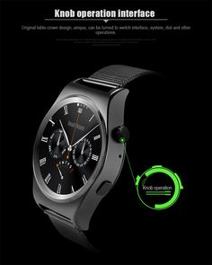 2017 X10 smart watch with heart rate mnitor men business healthy wrist watch for IOS android with Bluetooth Sleep Tracker watch