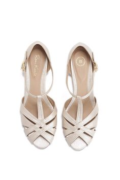 Sandales de jour de mariage / mariée sandales / chic sandales