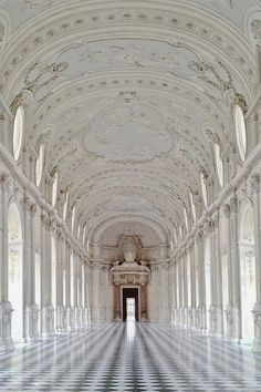 ♥ En route.. Palace of Venaria  Turin, Italy