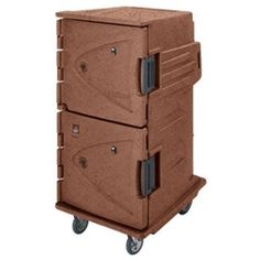 """Cambro CMBHC1826TBC 31"""" Full-Height Hot/Cold Food Holding Cabinet - Camtherm by Cambro. $8889.99. The 31"""" Full-Height Camtherm Hot/Cold Food Holding Cabinet from Cambro is a uniquely designed to be the best in food holding cabinets for caterers because of its versatility as both an insulated food transport carrier and a food cooling or warming cabinet. This cabinet features both an electric cooling and heating element on the back that will cool or warm the food inside. When ..."""