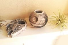 """Miniature """"Star Wars"""" Planters Infuse Intergalactic Fun into Any Decor - My Modern Met"""