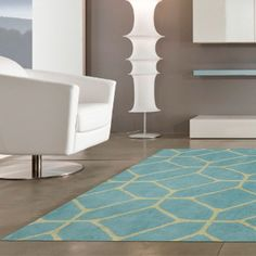 152x229 Geo Rug by Design Innovations designed in Great Britain #MONQOI