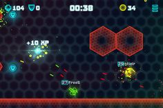 Enter the universe of Neon Battleground. A neon lit, modern, revamped retro style, fast paced, action packed classic, online multi player shooter. In this six player online laser shooter defend and attack with speed and accuracy against formidable opponents.