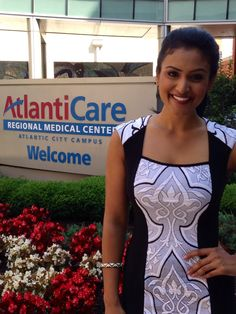 Miss America 2014 Nina Davuluri visited AtlantiCare Regional Medical Center in Atlantic City, NJ this morning. As Southeastern New Jersey's largest healthcare organization, AtlantiCare is committed to building healthy communities through partnerships with local organizations that share its interest in health.