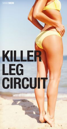 Get lean, strong legs with this killer leg workout!