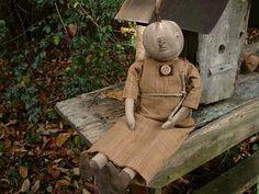 pumpkin doll ~ Rabbit Hill Primitives 246