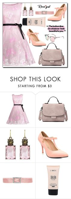 """ROSEGAL"" by imsirovic-813 ❤ liked on Polyvore featuring vintage"