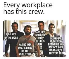 The workplace crew Stupid Funny, Haha Funny, Stupid Memes, Funny Stuff, Sarcastic Quotes, Funny Quotes, Sarcastic Work Humor, Work Jokes, Office Humor