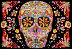 Image result for day of the dead art