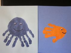 Perfect craft for the little ones to do for my Ocean lesson!