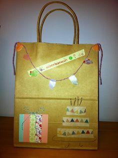 Decorated bag