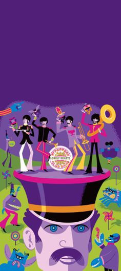 """May I Introduce to You"" Beatles Art Print by SHAG"