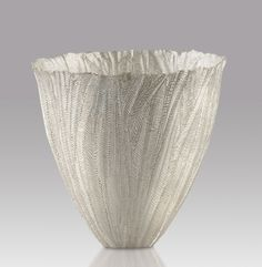Julie Blyfield - Acacia vessel 2007 - silver, Art Gallery of South Australia