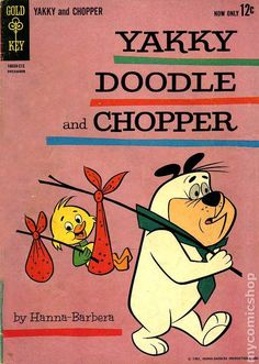 Yakky Doodle and Chopper comic books Classic Cartoon Characters, Favorite Cartoon Character, Cartoon Tv, Cartoon Shows, Duck Cartoon, Old School Cartoons, Retro Cartoons, Classic Cartoons, Vintage Comic Books