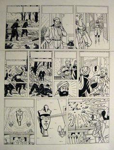 Blake et Mortimer par André Taymans