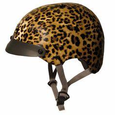 now here's a bike helmet