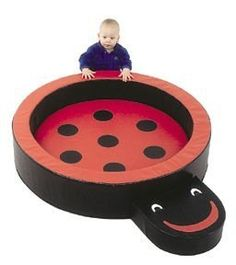 """Children's Factory Lady Bug Hollow Nesting Circle by Children's Factory. $462.72. """"PLEASE ALLOW UP TO THREE WEEKS BEFORE SHIPPING, AS CHILDREN'S FACTORY EDUCATIONAL TOYS ARE MADE-TO-ORDER. A gentle nesting place for 6 months old thru 3s. 9-1/2"""""""" high, 3"""""""" thick reversable play cushion. 5"""""""" high x 15"""""""" long smiling face step provides perfect size seat or step into soft play. Children's Factory educational toys use only the best materials available and manufacture a..."""