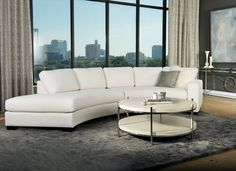 City Style, Refined - like the sectional and coffee table
