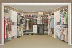 closet design by closet maid