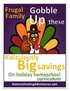 Homeschooling Adventurez: Big Savings on Holiday Homeschool Curriculum: Frugal Family