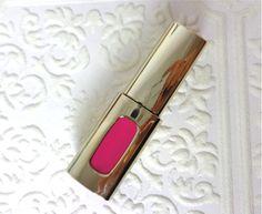L E N A L L U R E: Review, Swatch - L'Oreal Colour Riche Extraordinaire Liquid Lipstick 105 Pink Tremolo