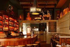 The British-inspired bar at The Dandelion in Center City, Philadelphia