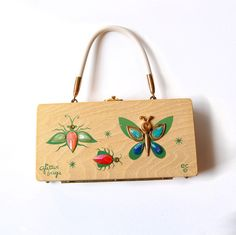 vintage wooden purses by enid collins - Google Search