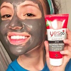 The Yes To Tomatoes Detoxifying Charcoal Mud Mask will make your skin feel silky smooth. | 19 Charcoal Beauty Products People Swear By