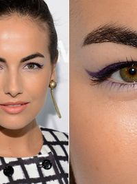 Gallery of big hooded eyes - makeup inspiration