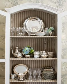 Decorating Resolutions | Restyle Your China Cabinet