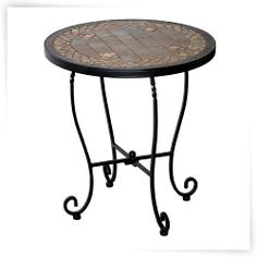 939f40e94bc0 Alfresco Home Dublin Outdoor Side Table Outdoor Side Table