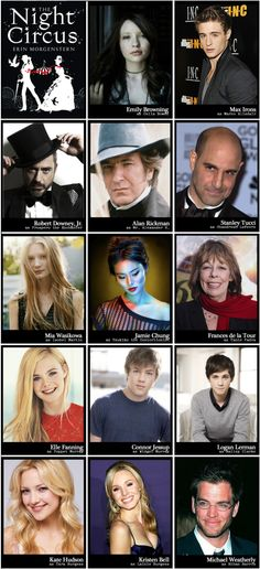 Fan cast of Erin Morgenstern's 'The Night Circus'