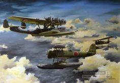 Gevecht tussen Dornier DO 24K vliegboot X 35 en Japanse watervliegtuigen nabij Kuching (Noord-Borneo) 23 december 1941