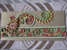 OMG! OMG! OMG! These are the most beautiful quilted paisley I've ever seen! === quilling.