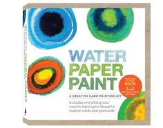 For Kids | Water Paper Paint: A Creative Card-Painting Kit by Heather Smith Jones