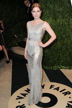 2013 Vanity Fair Oscar Party Hosted By Graydon Carter - Arrivals: Amy Adams