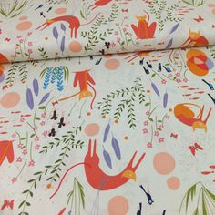 Catnap Cat Dream Cream Makower Fabric Online Uk Material Fabrics For Patchwork And Quilting
