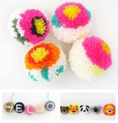 LUNAdei Creativi   Un Pon-Pon Ecologico e Multicolor per il tuo MyBoshi!   http://lunadeicreativi.com