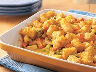Cheesy Southwest Chicken Casserole Recipe from Betty Crocker